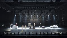 Hamlet - LD Jesper Kongshaug Stage Lighting Design, Continents, Fields, Opera, Photo Wall, Musicals, Graphics, Stage Design, Photograph
