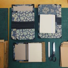 Setting up to case our beautiful notebooks, handmade in Cork, Ireland