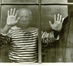 picasso / robert doisneau /1952