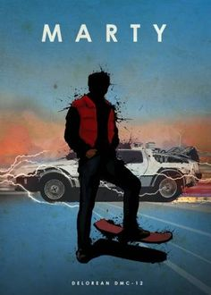 Marty McFly - Back to the Future - Eddie Rock