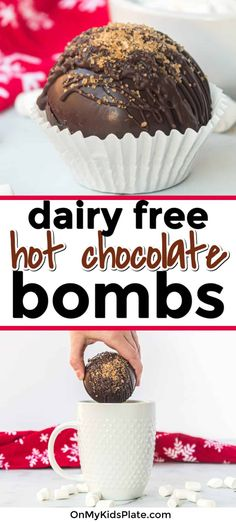 Dairy Free Hot Chocolate, Hot Chocolate Gifts, Christmas Hot Chocolate, Hot Chocolate Bars, Chocolate Treats, Vegan Chocolate, Melting Chocolate, Hot Cocoa Recipe, Cocoa Recipes