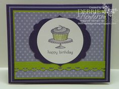 Debbie's Designs: Wednesday Wacky-Squash Fold Card!