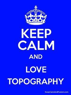 Love Topography  #topografo #topografia #landsurveyor #geomatic #geometra #topographie  www.topografia.bgonavarro.es