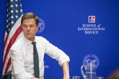 https://flic.kr/p/FKPX9z | DSC_0113 | Prime Minister of the Netherlands, and current President of the European Union, Mark Rutte at American University