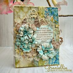 Frilly and Funkie: Challenge Winners - Spring Time Die Cuts