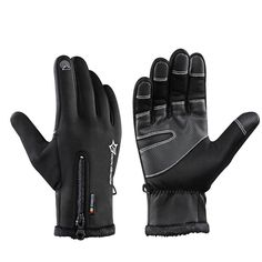 ROCKBROS Cycling Bicycle Thermal Gloves Warmproof Winter Warm Glove Antislip Waterproof Sports Glove