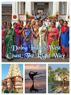 India's west coast contains some of the most incredible sights the country has to offer. The history and architecture are fascinating, the vibrant colors are memorizing, and the locals are engaging.