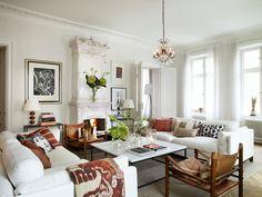 Santi's Royal Home: Sweden Style!