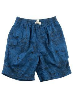 Map Ewaist Short - Shorts - Categories - boys | Peek Kids Clothing