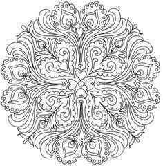 MűvészMűhely: Szeretet mandala kontúrok - Mandalas of love Cool Coloring Pages, Mandala Coloring Pages, Adult Coloring Pages, Coloring Books, Mandala Design, Mandala Pattern, Mandala Art, Mandalas Painting, Mandalas Drawing