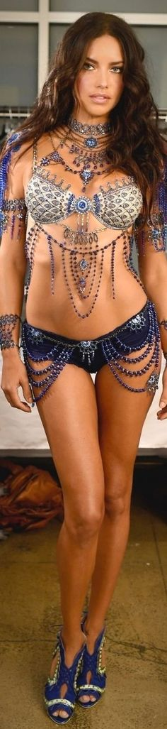 Adriana Lima for Victoria Secret upcoming Fashion Show Million Dollar Bra - #LadyLuxuryDesigns: