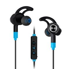 Bluetooth Earbuds, Mixcder Flyto Bluetooth V4.1 Wireless Sport Sweatproof with Microphone, Long battery life (8 Hours Playtime) Comfortable Stable Running Earbuds with Clip and Case, 2016 Amazon Hot New Releases DJ, Electronic Music & Karaoke  #Musical-Instruments