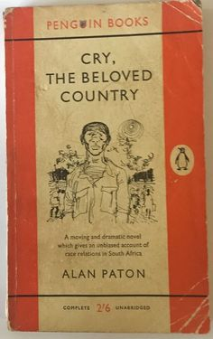 a familys misery cry the beloved country by alan paton Cry, the beloved country is a novel by alan paton, published in 1948american publisher bennett cerf remarked at that year's meeting of the american booksellers association that there had been only three novels published since the first of the year that were worth reading.