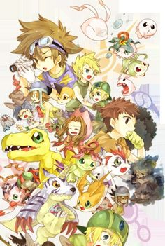 Digimon Digital Monsters, Digimon are the champions Remember arguing over which was better when you were a kid? Pokemon vs. Digimon :) Good times
