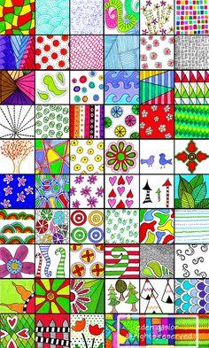 etsy...doodle art