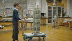 Conserving Frank Lloyd Wright's St. Mark's Tower Model
