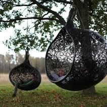 I can imagine Anna curled up in this in our backyard, reading a book.