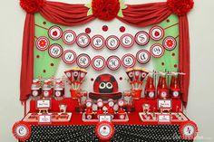 Amazing Ladybug Party #ladybugparty #desserttable