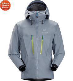 Arc'teryx Alpha SV - the most durable GORE-TEX Pro jacket for severe alpine environments