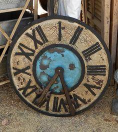 #clock .... flea market find...