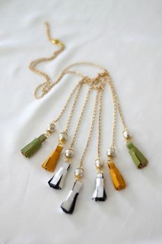 Diy Tassel  : DIY Isabel Marant Tassel Necklace
