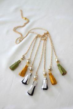 Diy Tassel  : DIY Isabel Marant Tassel Necklace
