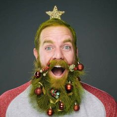 Hairy shave grinch that