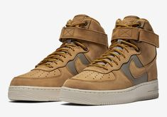 Nike Air Force 1 High Wheat 525317-700 Release Info c681af164