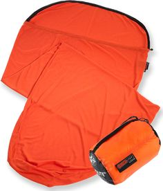 Sea to Summit Thermolite Reactor Extreme Mummy Bag Liner adds approximately 25 deg of warmth to a sleeping bag.