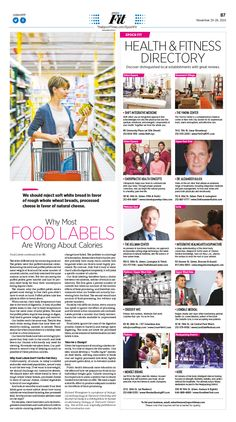 Why Most Food Labels Are Wrong About Calories|Epoch Times #Health #Nutrition #CalculateCalories #newspaper #editorialdesign