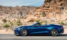 Aston Martin Vanquish Volante : un bijou décoiffant