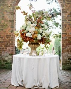 Dramatic Ceremony Arrangement