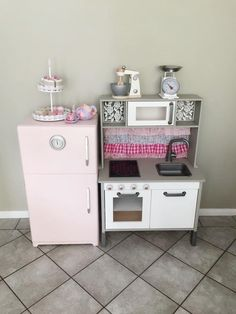 Australian Ikea Duktig Play Kitchen easy makeover and hacks for the Oh So Busy Mum.