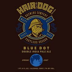 Hair Of The Dog Brewing Co. , OR Blue Dot Double IPA