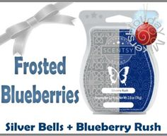 Frosted Blueberries, sweet blueberries with a hint of mint. www.peggycarty.scentsy.us