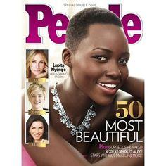 Lupita Nyong'o Is PEOPLE's Worlds Most Beautiful - https://blackhairinformation.com/general-articles/lupita-nyongo-peoples-worlds-beautiful/