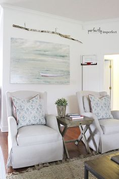 some living room updates | Perfectly Imperfect Blog