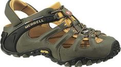 Merrell Sports sandal October 2006 A new shoe from Merrell caught our attention the other day and to say we were blown away with the look of the shoe is an understatement – so Me Too Shoes, Men's Shoes, Shoe Boots, Best Hiking Shoes, Hiking Boots, Merrell Shoes, Mens Clothing Styles, Sports Shoes, Casual Shoes