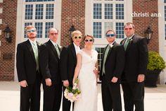 Groomsmen + Bride | Christi Ann Photography