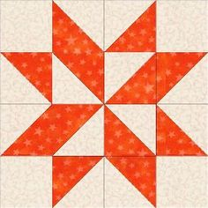 """Pinwheel block - with a list of Accuquilt dies for 8"""" and 12"""" construction"""