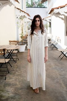 Creamoda Striped Shirt Dress - Republic of ModeTrendy How To Wear Casual Dress Striped Shirts Trendy dress maxi outfit for wedding summer Kurta Designs Women, Blouse Designs, How To Wear Shirt, Striped Shirt Dress, Striped Shirts, Cotton Shirt Dress, Hijab Style, Tunic Pattern, Linen Dress Pattern
