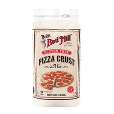 Save on Bob's Red Mill 16 Oz Pizza Crust Mix Gluten Free This Mix Makes A Light, Crispy, Delicious Pizza Crust. Specially Designed For Those Sensitive To Wheat Or Gluten And Delightfully Easy, This Whole Grain Pizza Crust Bakes Up To Two Gluten. Gluten Free Crust, Gluten Free Pizza, Gluten Free Recipes, Gourmet Recipes, Dairy Free, Gf Recipes, Easy Recipes, Fodmap Recipes, Apple Recipes