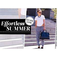 Get Her Look Effortless Summer ❤ liked on Polyvore
