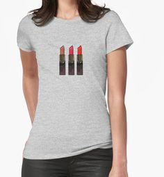 Girly Red Lipstick Trio by PenelopeCain