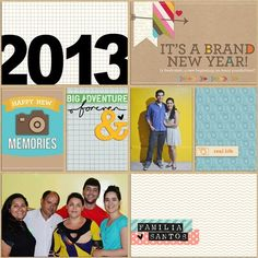 Title page / Cover page - Project Life 2013