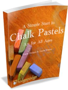 A Simple Start in Chalk Pastels - new ebook from Hodgepodge!