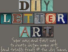letter art!