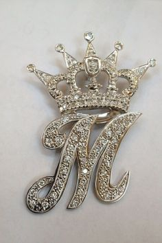 My sisters diamond initial she got it in feb 2012 i m dying for one M Wallpaper, Alphabet Wallpaper, Butterfly Wallpaper, Cute Wallpaper Backgrounds, Cellphone Wallpaper, Cute Wallpapers, M Letter Design, Alphabet Design, Stylish Alphabets