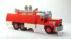 Lego Tatra Fire Truck