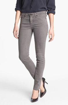 $108.00 26p or 27p Big Star 'Alex' Stretch Skinny Jeans (Tornado) (Petite) available at Nordstrom